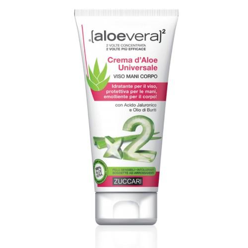 Aloe Vera2 Crema d'Aloe Universale Viso Mani Corpo 75ML